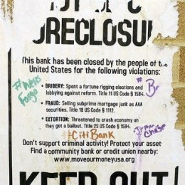 Foreclosures Are a Serious Issue (Image Credit:  Daquella Manera at Flikr)