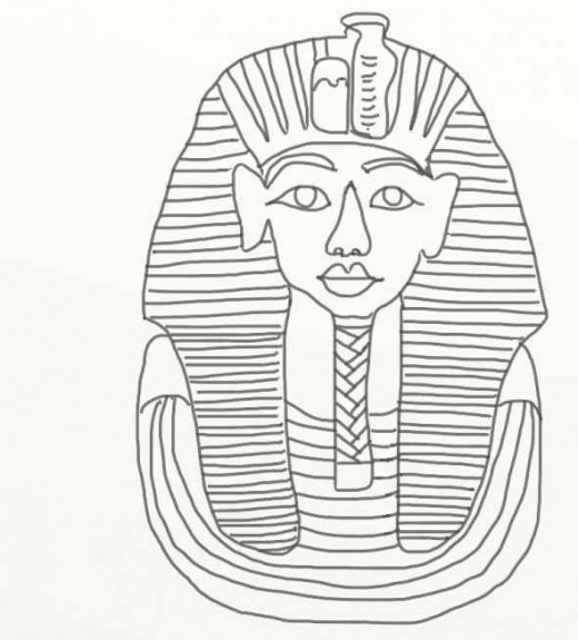 free coloring pages king tut - photo#13