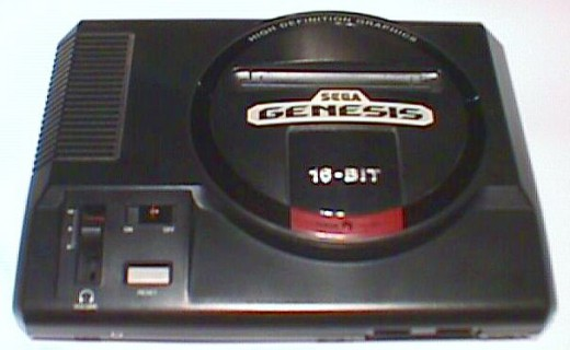 The Sega Genesis.  (image from: www.geocities.com)