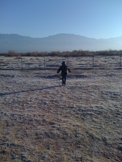 Kiddos and Desert Space