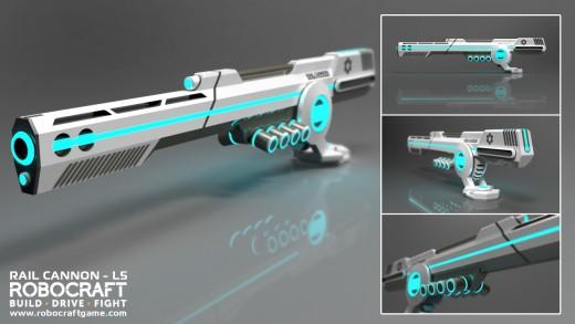 Railgun model