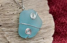 Wire Wrapping Sea Glass