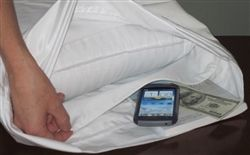 iPod - Pillowcase with Hidden Compartment