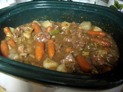 Guinness Stew in a Crockpot