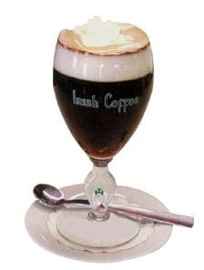 Irish Whisky Coffee