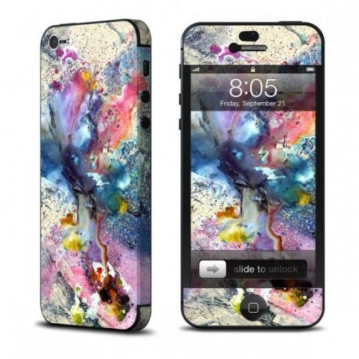Cosmic Flower iphone 5 Skin