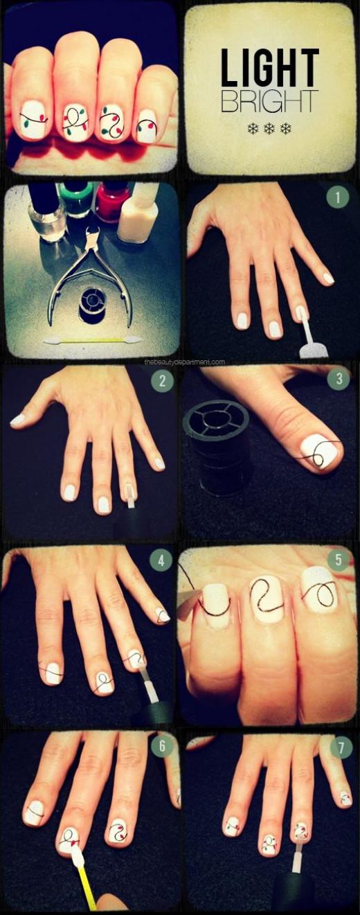 Light Brite Nails