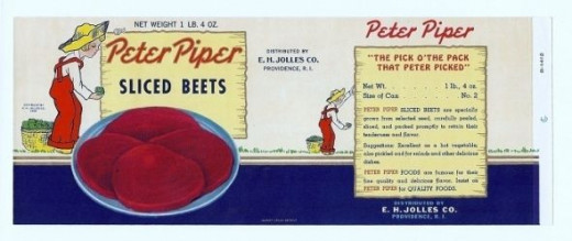 Peter Piper Red Beets