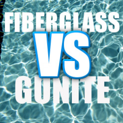 Fiberglass vs Gunite Pool: A Point-By-Point Comparison