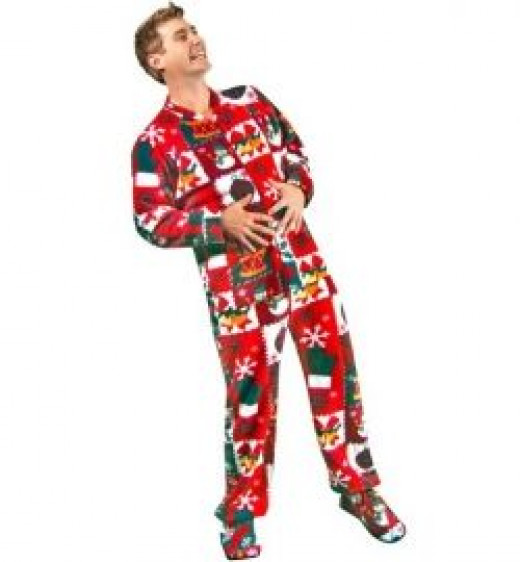 Ugly Christmas Pajamas (click to view product page)