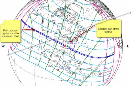 next solar eclipse crossing USA in 2017