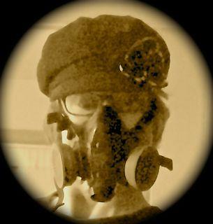 Racial Slur gas mask