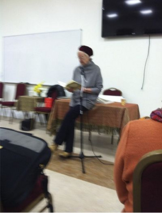 The Bookreading I Attended