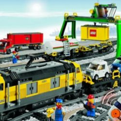 Give a Lego Cargo Train Set for Years of Active Play