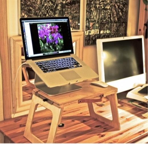 "My MacBook Pro 15.4"" Laptop With Retina Display & My 24"" Intel Mac"