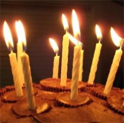 Try Some Happy Birthday Candles