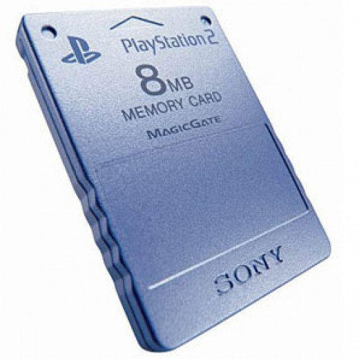 PS2 Memory Cards at Amazon.com