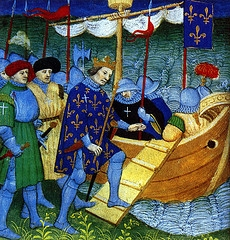 Louis IX Embarks for His Crusade.