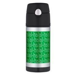 Halal Tees Thermos Funtainer