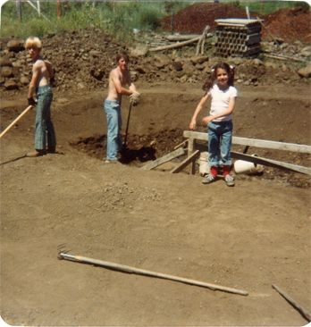 We Excavated By Hand
