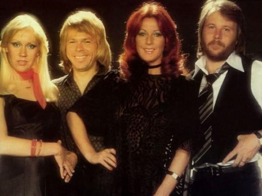 ABBA Swedish Pop Group