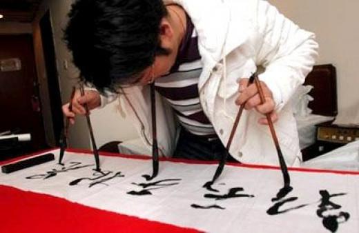 Ye Genyou, Calligraphy Prodigy