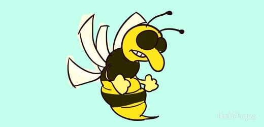While bees won't sting without provocation, most people's association with them is aggression, annoyance, and pain.