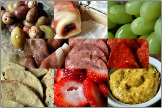 Beautiful ingredients to choose from.