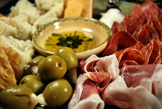 A small charcuterie to share with someone special.