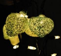 Christmas Light Luminaries