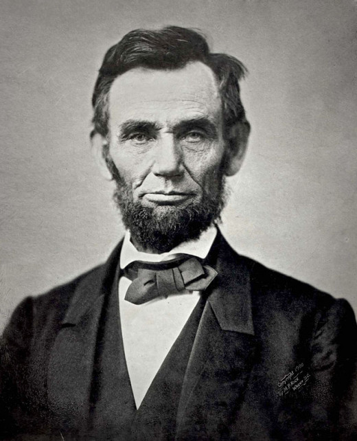 Abraham Lincoln 16th president of the united states.