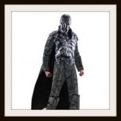 General Zod Costume and Mask - Have a Man of Steel Halloween!