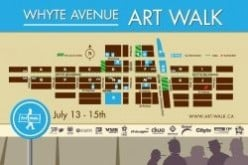 Edmonton's Whyte Ave Art Walk