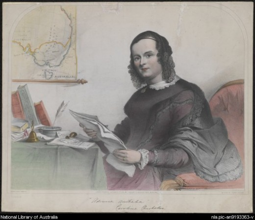 Caroline Chisholm work was said to have transformed the rough penal colony into a civilized  community.  During her lifetime, she helped settled thousand of migrants into their new homeland.