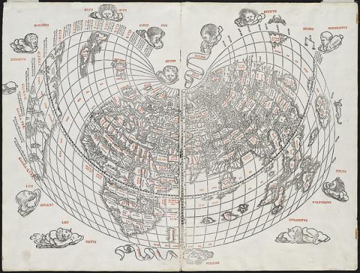 1511 World Map