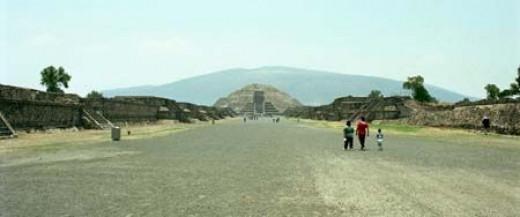 Teotihuacan Pyramids, near Mexico City