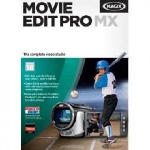 Magix Movie Edit Pro MX Software
