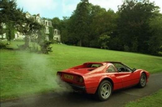 My Ferrari 308 GTS QV in France