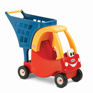 Little Tikes Cozy Coupe Shopping Cart (Red/Yellow)