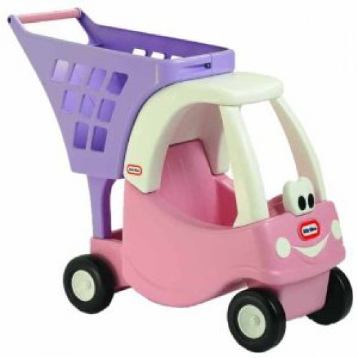 Little Tikes Cozy Coupe Shopping Cart (Pink/Purple)