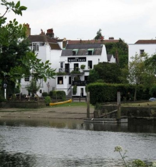 The Best Pub in the World: The White Swan in Twickenham