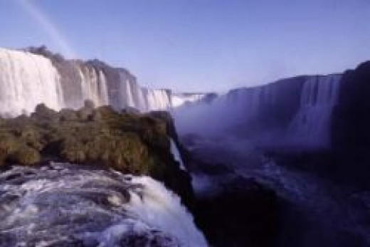 Iguacu Waterfalls from the Brazilian Side (looking into Argentina)