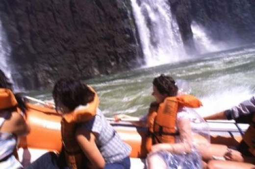 Boat Trip into Iguacu Waterfalls