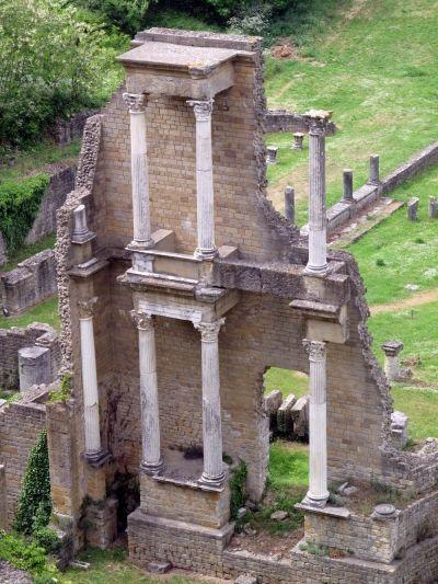 Roman Ruins at Volterra, Tuscany
