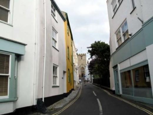 Back Streets of Lyme Regis