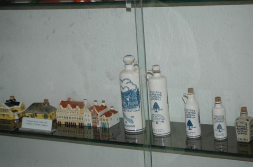 You can also get Curacao Liqueur in a fancy container.