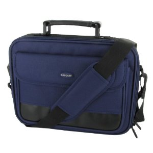 rooCASE Netbook Carrying Bag for Acer Cromia AC761 11.6-Inch HD Chromebook Wi-Fi 3G Classic Series Dark Blue / Black