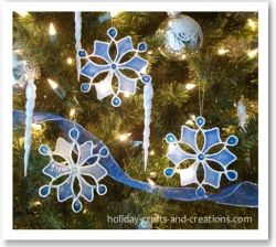 Glue Christmas Ornaments