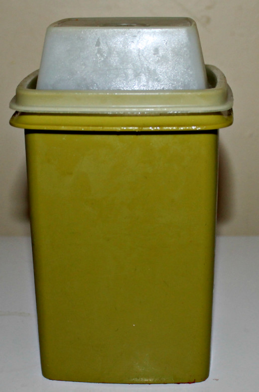 Mom's classic container.