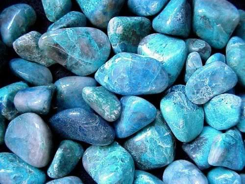 Turquoise Stones.